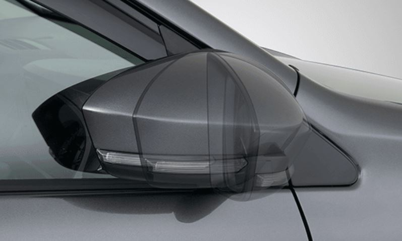 Harga Mobil Avanza Outer Mirror Design with Side Turn Signal Lamp